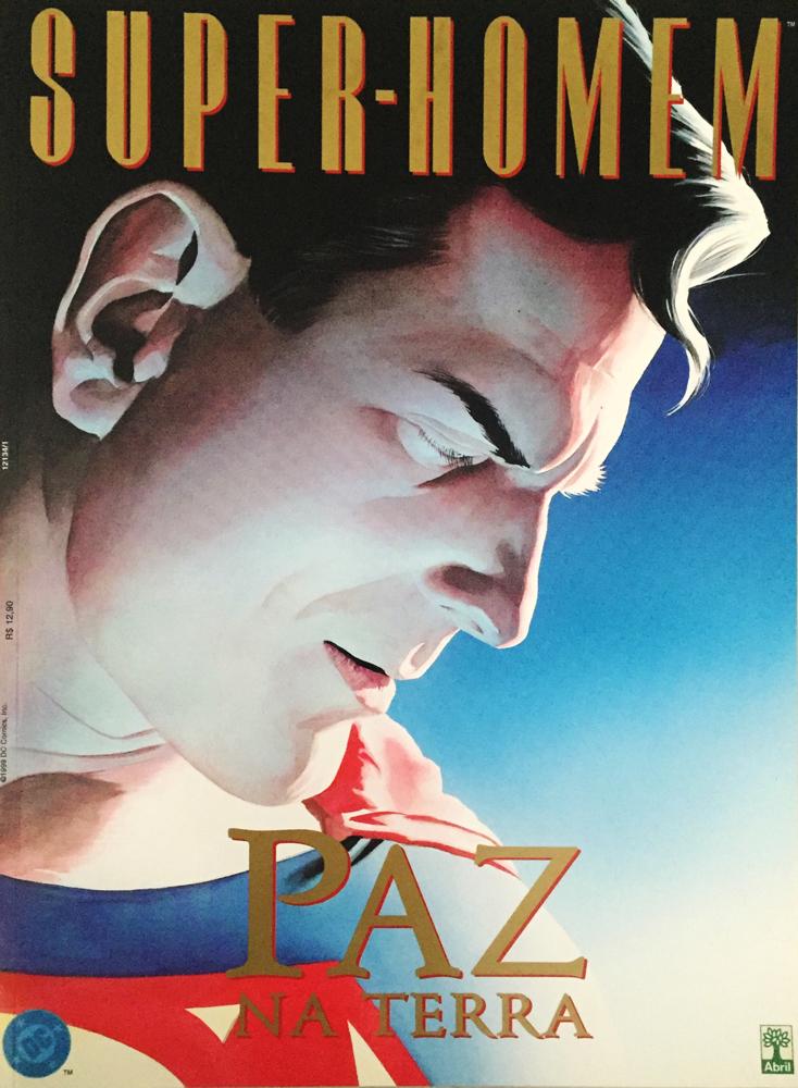Capa: Super-Homem Paz na Terra