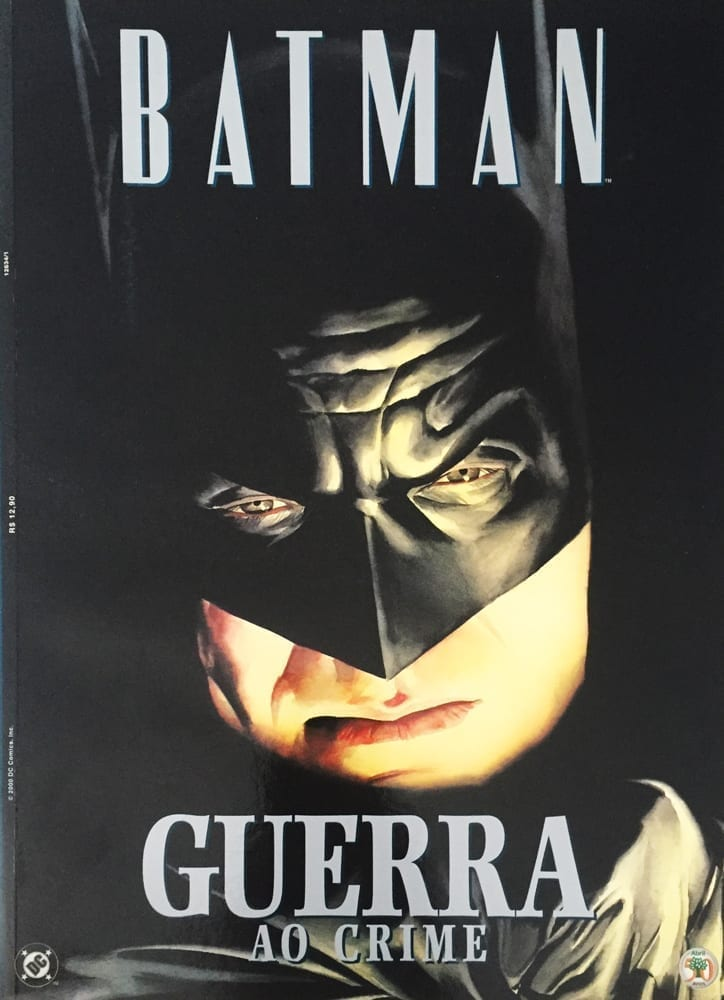 Capa: Batman - Guerra ao Crime