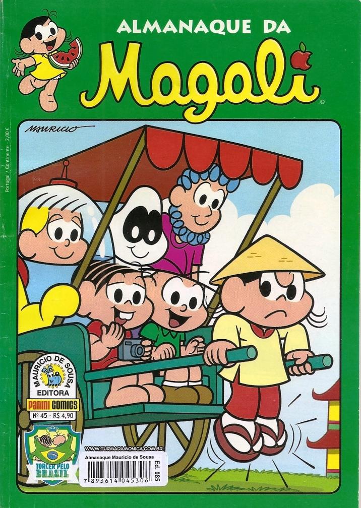 Capa: Almanaque da Magali Panini 45