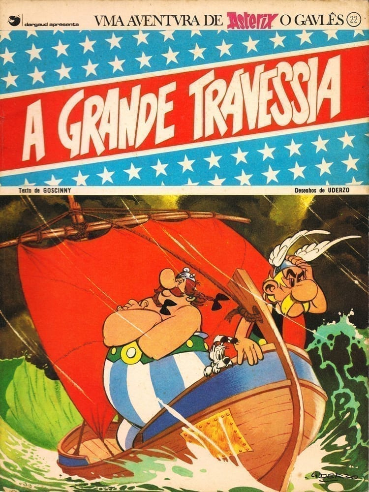 Capa: Asterix, o Gaulês (Cedibra) - A Grande Travessia 22