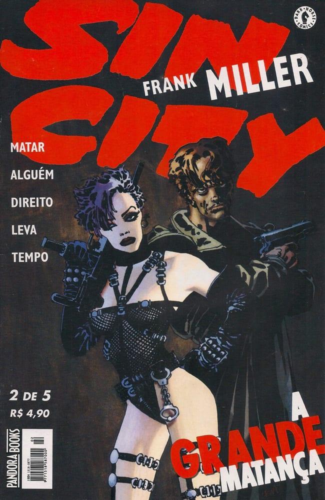Capa: Sin City - A Grande matança 2