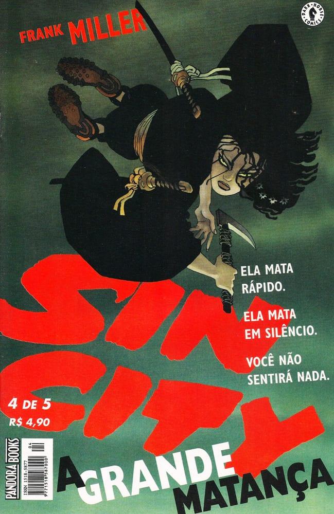 Capa: Sin City - A Grande matança 4