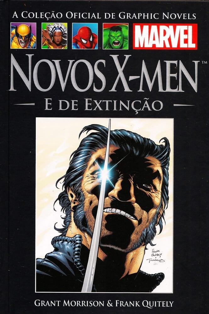 Capa: A Coleção Oficial de Graphic Novels Marvel (Salvat) - Novos X-Men - E de Extinção 23