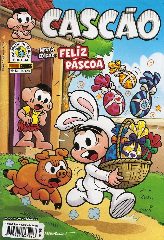 Capa: Cascão Panini (1º Série) 63