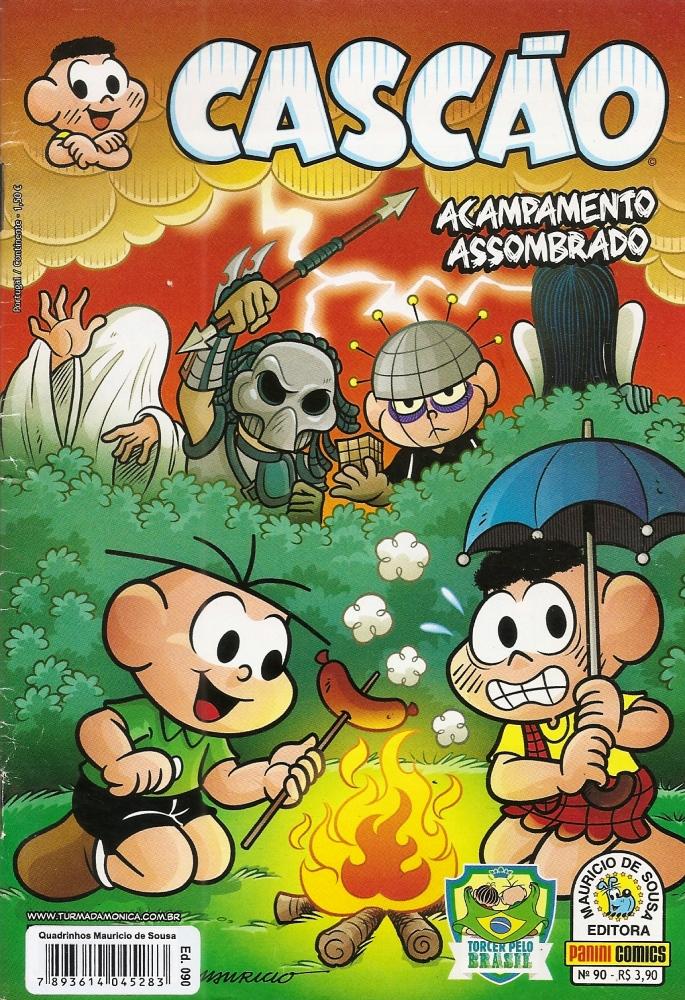 Capa: Cascão Panini (1º Série) 90