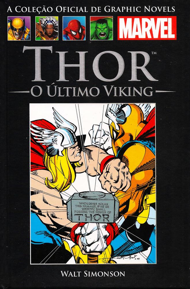 Capa: A Coleção Oficial de Graphic Novels Marvel (Salvat) - Thor - O Último Viking 5