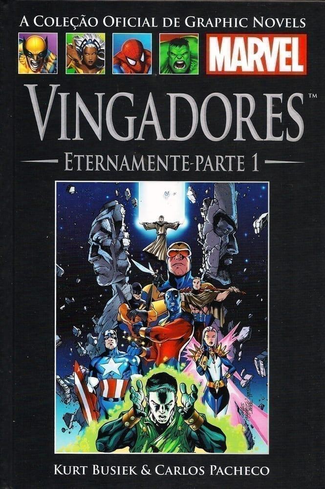Capa: A Coleção Oficial de Graphic Novels Marvel (Salvat) - Vingadores - Eternamente Parte 1 14