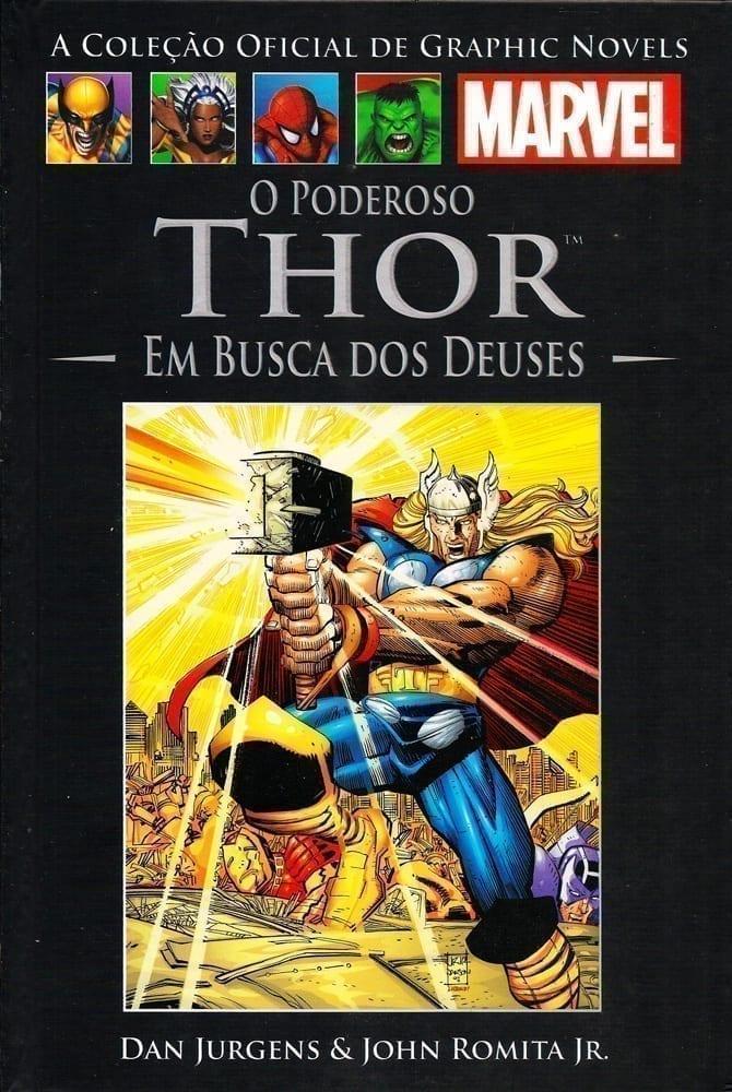 Capa: A Coleção Oficial de Graphic Novels Marvel (Salvat) - O Poderoso Thor - Em Busca dos Deuses 16