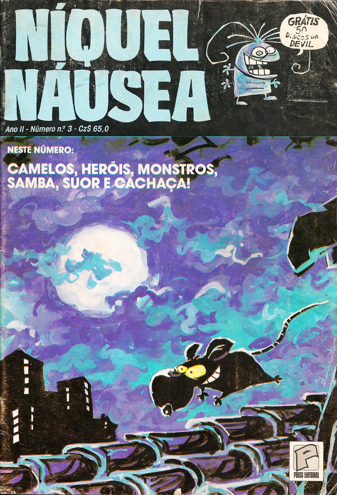 Capa: Níquel Náusea - Press 3