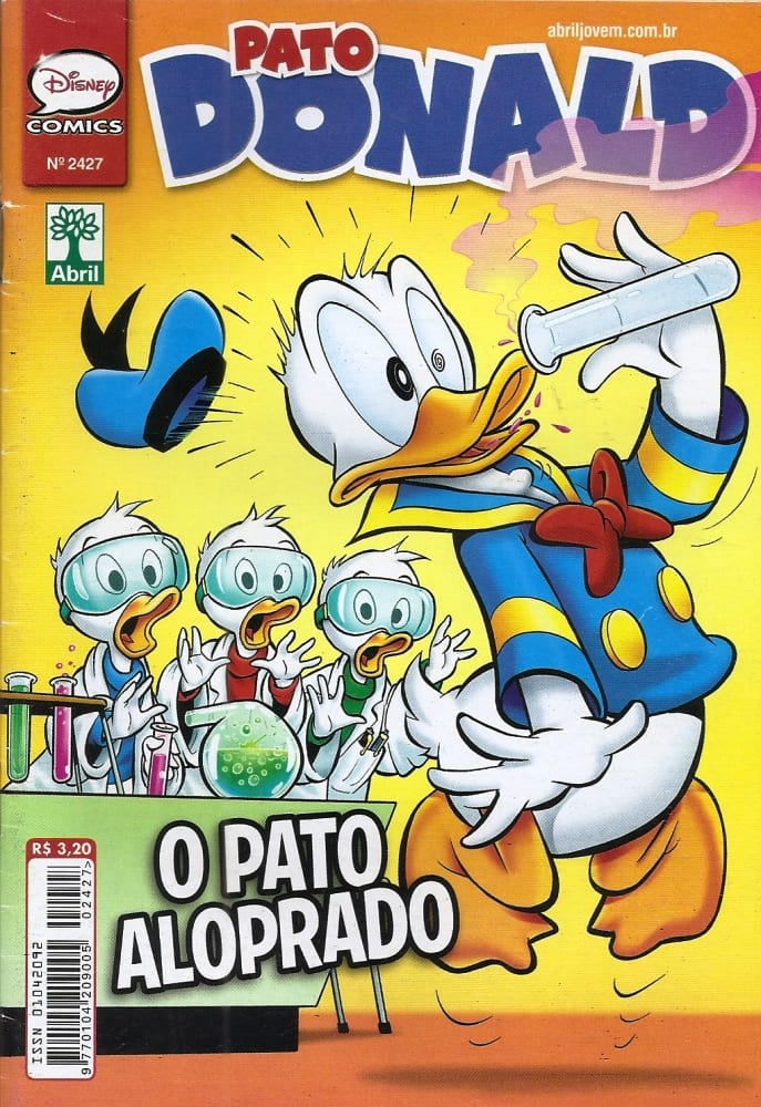 Capa: O Pato Donald 2427