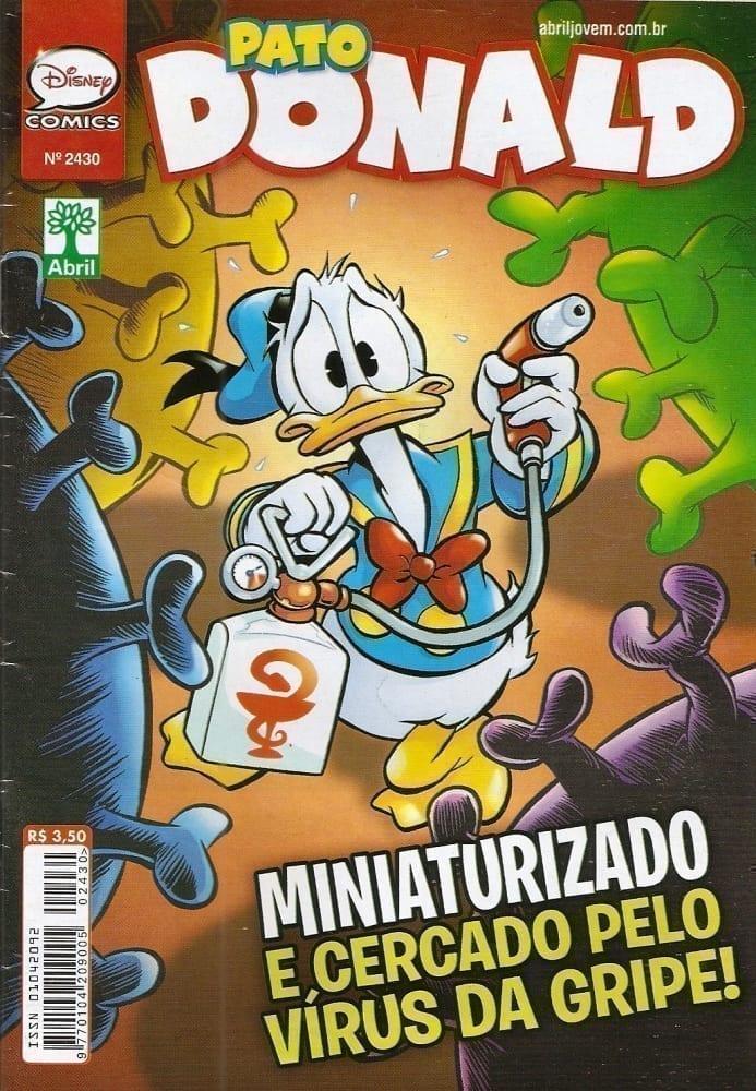 Capa: O Pato Donald 2430