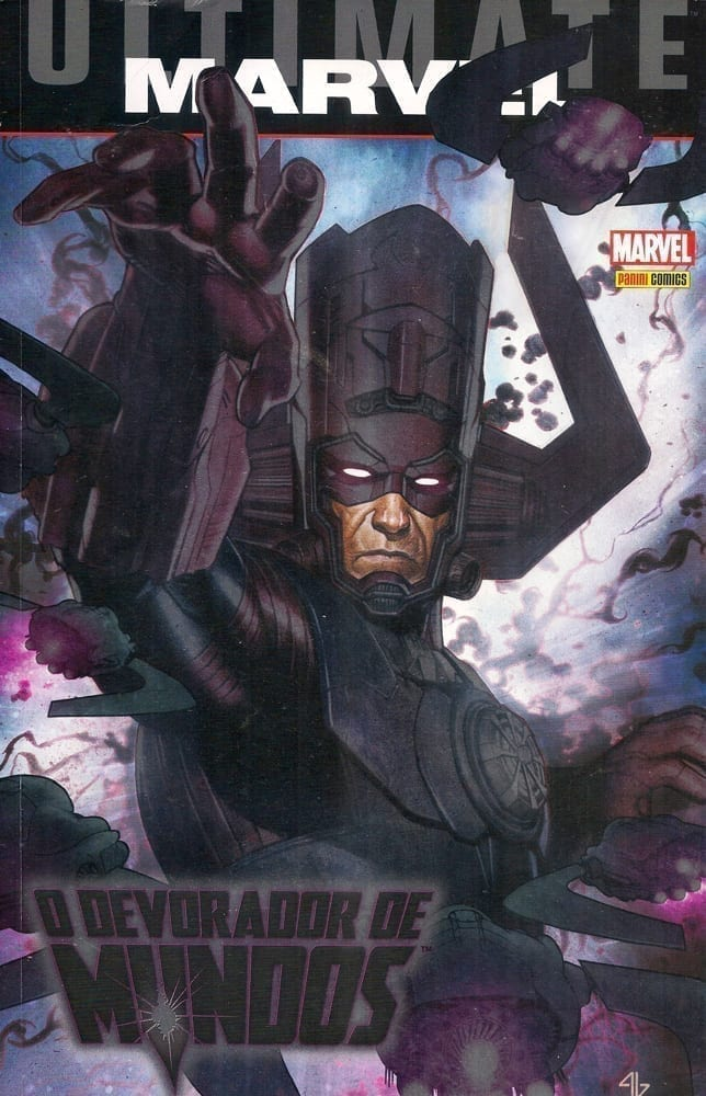 Capa: Ultimate Marvel - O Devorador de Mundos