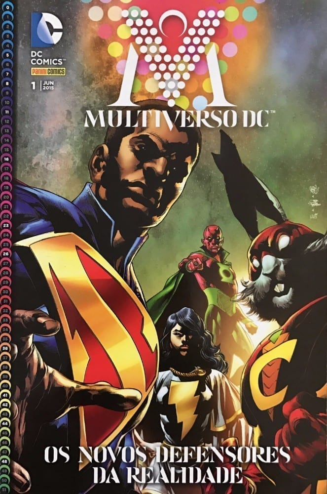 Capa: Multiverso DC 1