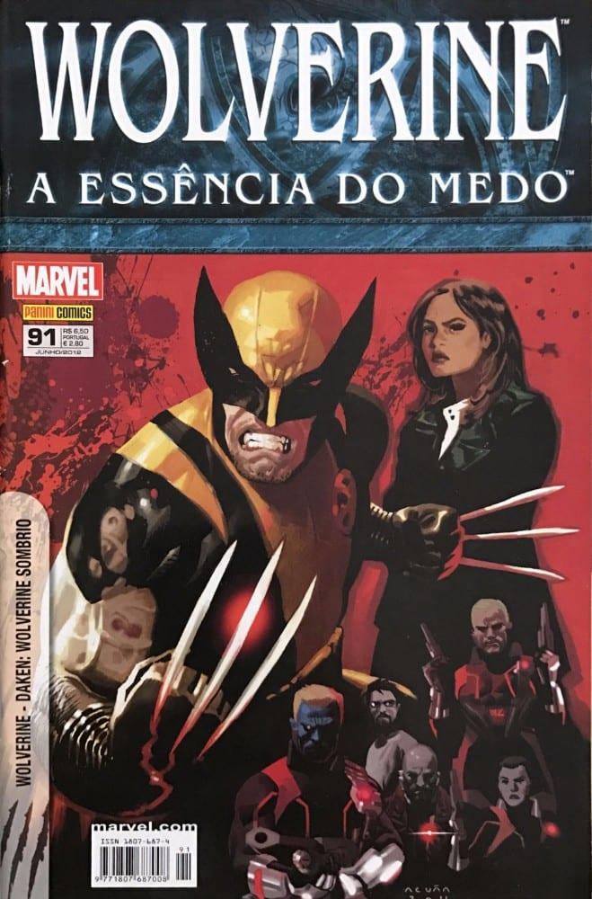 Capa: Wolverine - 1ª Série (Panini) 91