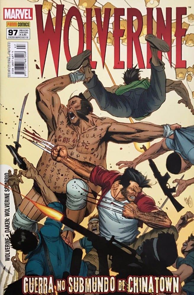 Capa: Wolverine - 1ª Série (Panini) 97