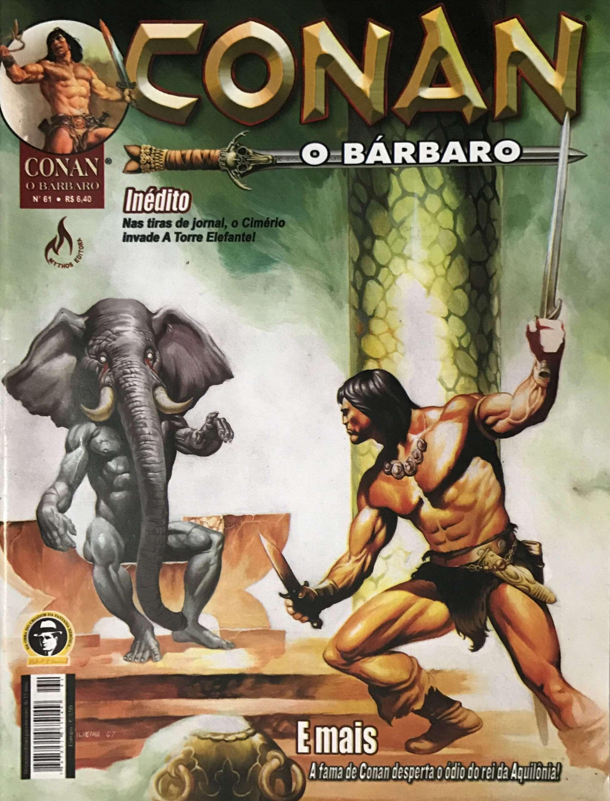 Capa: Conan, O Bárbaro (Mythos) 61