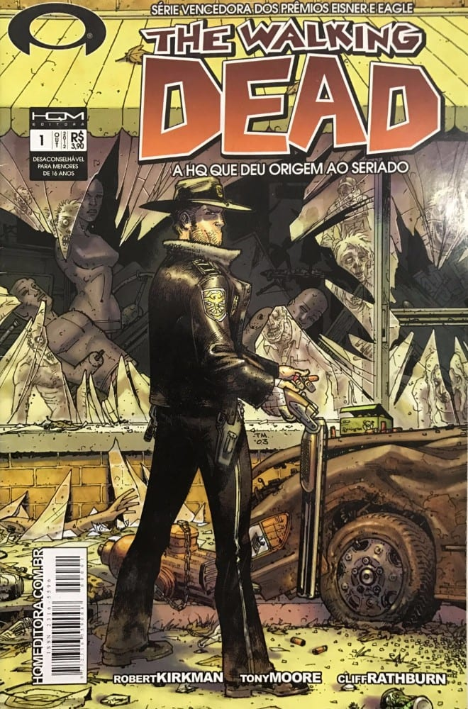 Capa: The Walking Dead (HQM) 1