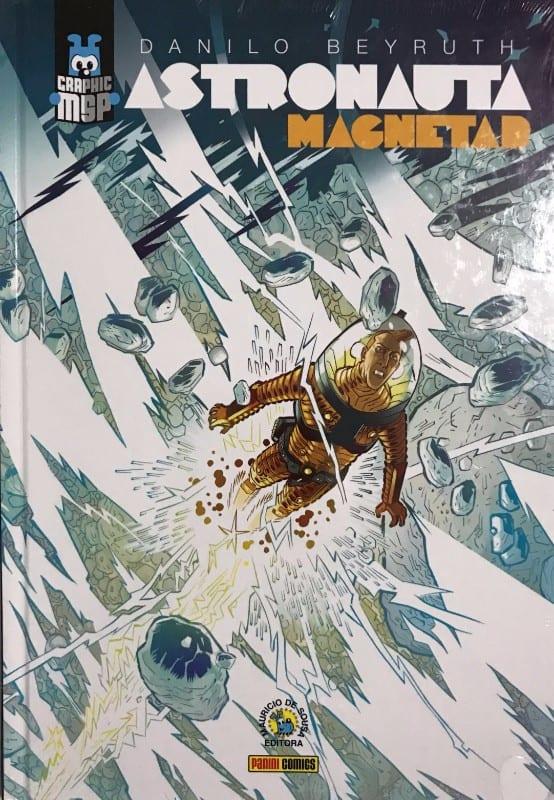Capa: Graphic MSP (Capa Dura) - Astronauta: Magnetar 1