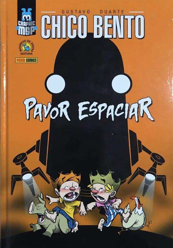 Capa: Graphic MSP (Capa Dura) - Chico Bento: Pavor Espaciar 3