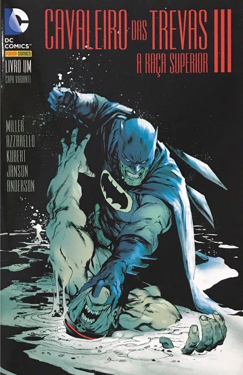 <span>Batman – Cavaleiro das Trevas III: A Raça Superior – Capa Variante B 1</span>