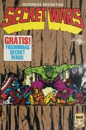 <span>Secret Wars (Guerras Secretas) Abril 4</span>