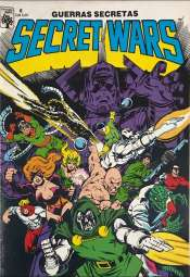 <span>Secret Wars (Guerras Secretas) Abril 6</span>