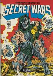 <span>Secret Wars (Guerras Secretas) Abril 10</span>
