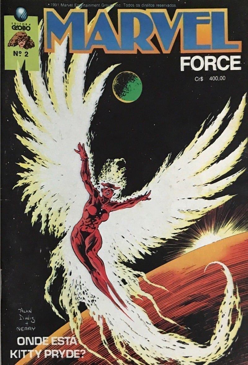 Capa: Marvel Force 2
