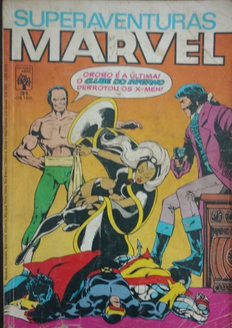 Capa: Superaventuras Marvel Abril 31