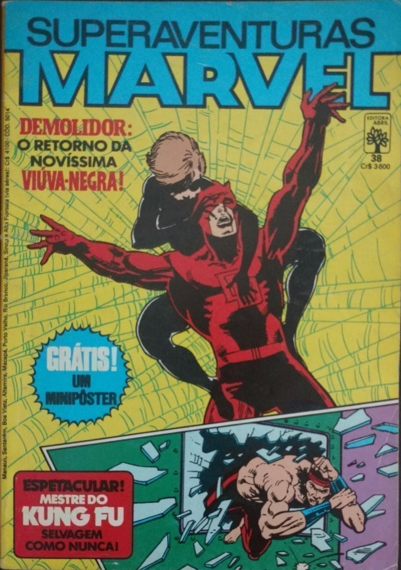 Capa: Superaventuras Marvel Abril 38