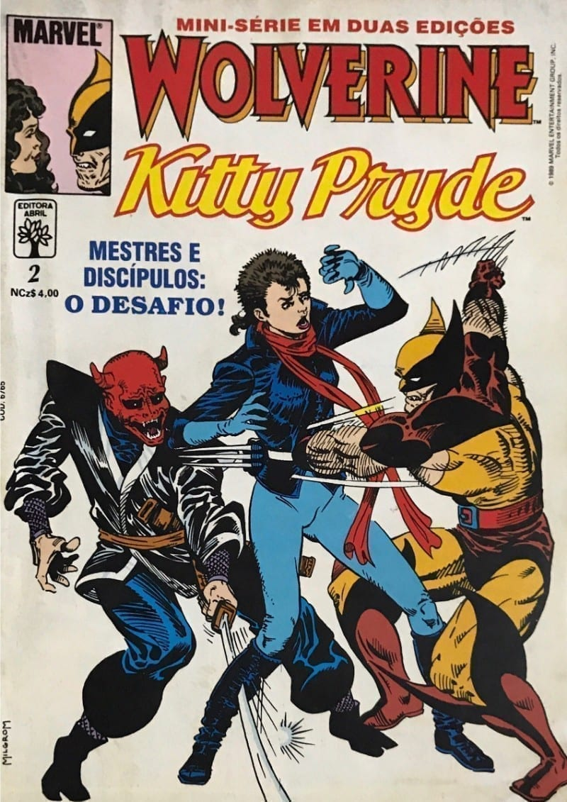 <span>Wolverine & Kitty Pryde (Minissérie Abril) 2</span>