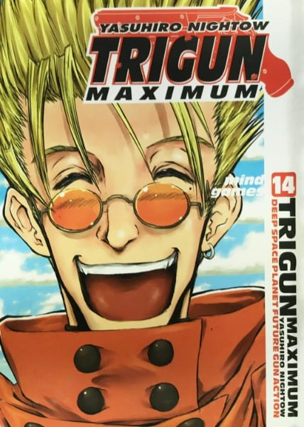 Capa: Trigun Maximum 14