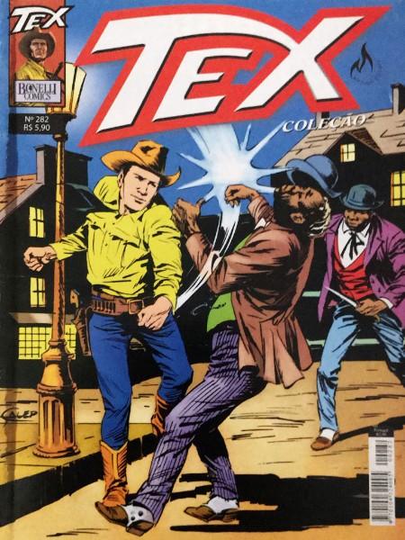 Capa: Tex Coleção Mythos 282
