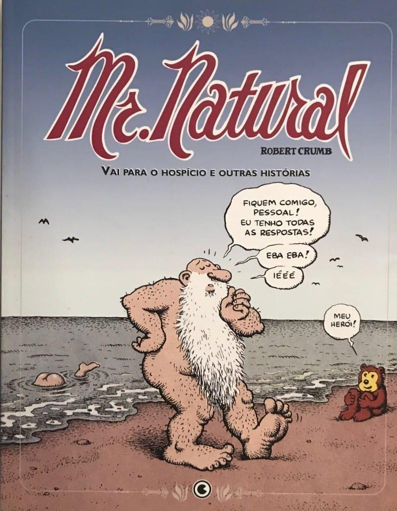 Capa: Mr. Natural Vai Para O Hospício e Outras Histórias