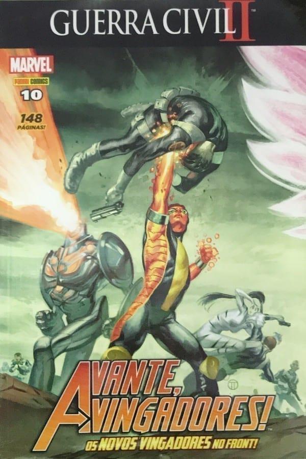 Capa: Avante, Vingadores! - 3ª Série 10