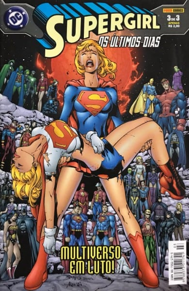 Capa: Supergirl - Os Últimos Dias 3
