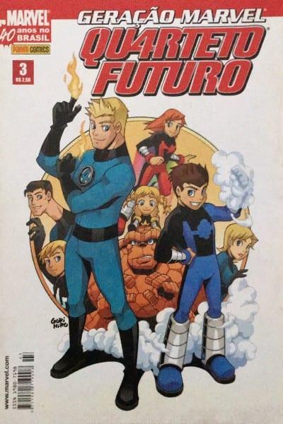 Capa: Geração Marvel - Quarteto Futuro 3