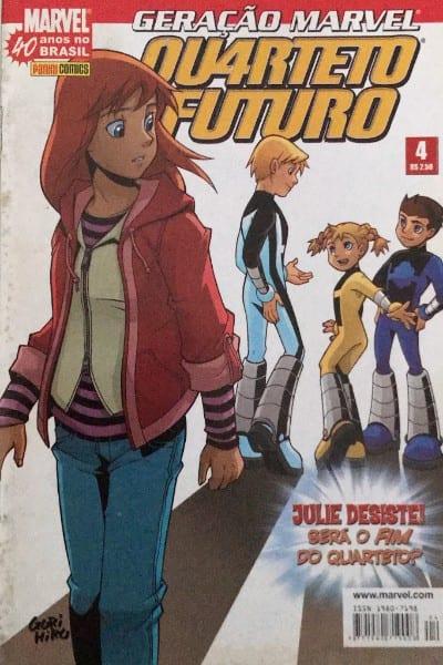 Capa: Geração Marvel - Quarteto Futuro 4