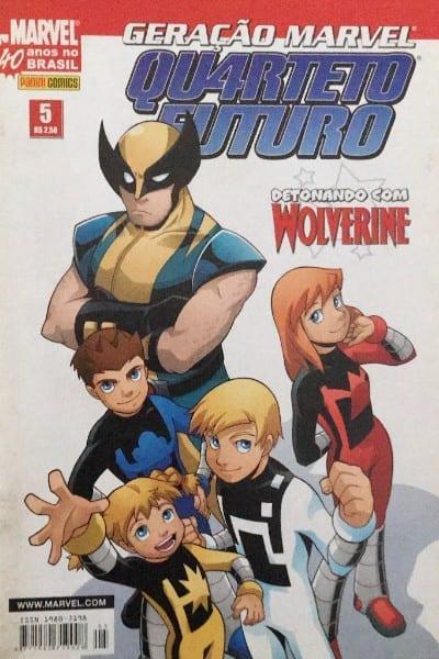 <span>Geração Marvel – Quarteto Futuro 5</span>