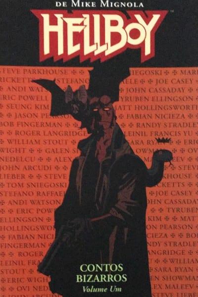 Capa: Hellboy - Contos Bizarros 01