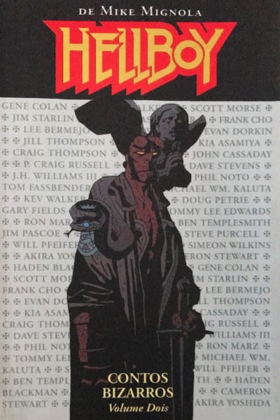 Capa: Hellboy - Contos Bizarros 02