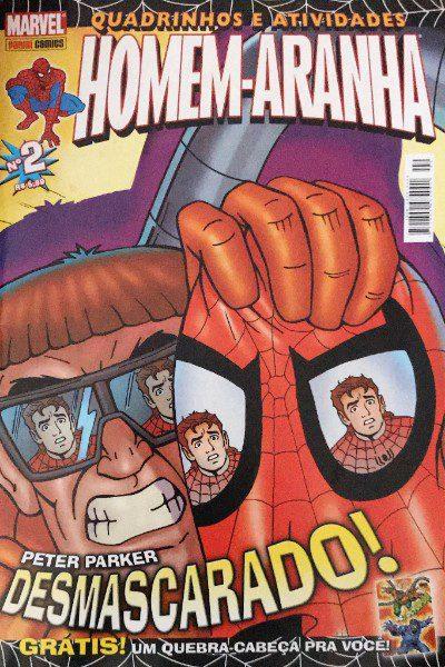 Quadrinhos E Atividades Homem Aranha 2 Excelsior Comic Shop