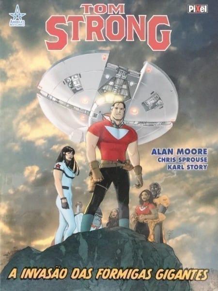 <span>Tom Strong – A Invasão das Formigas Gigantes</span>