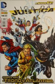 <span>Liga da Justiça Panini 2<sup>a</sup> Série 14</span>