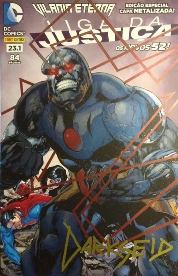 <span>Liga da Justiça Panini 2<sup>a</sup> Série – (Edição Especial – Capa Metalizada Darkseid) 23.1</span>