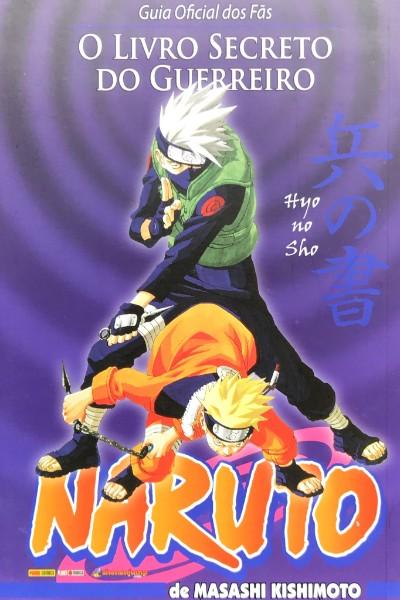 Capa: Naruto: O Livro Secreto do Guerreiro