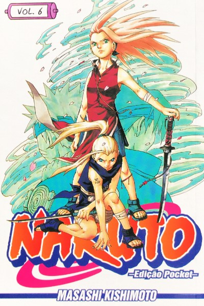 Capa: Naruto Pocket 6