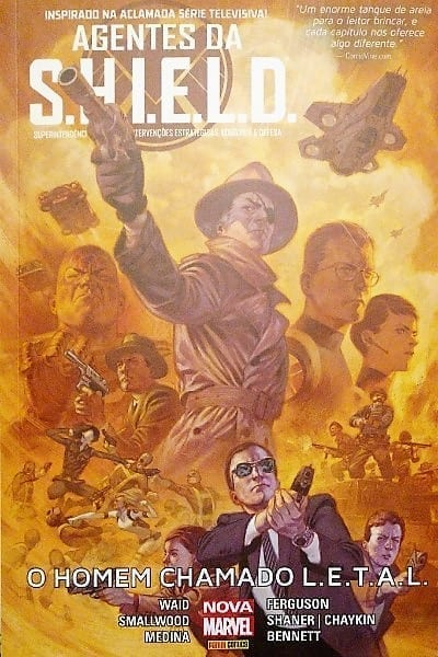 Capa: Agentes da S.H.I.E.L.D. (Capa Cartonada) - O Homem Chamado L.E.T.A.L. 2