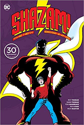 Capa: Shazam: A New Beginning 30th Anniversary Deluxe Edition
