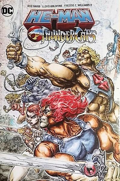 Capa: He-Man / Thundercats (TP)